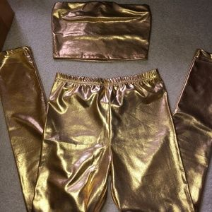Tops - gold tailgate two piece